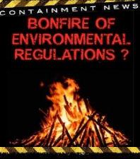 Bonfire of Environmental Regulations