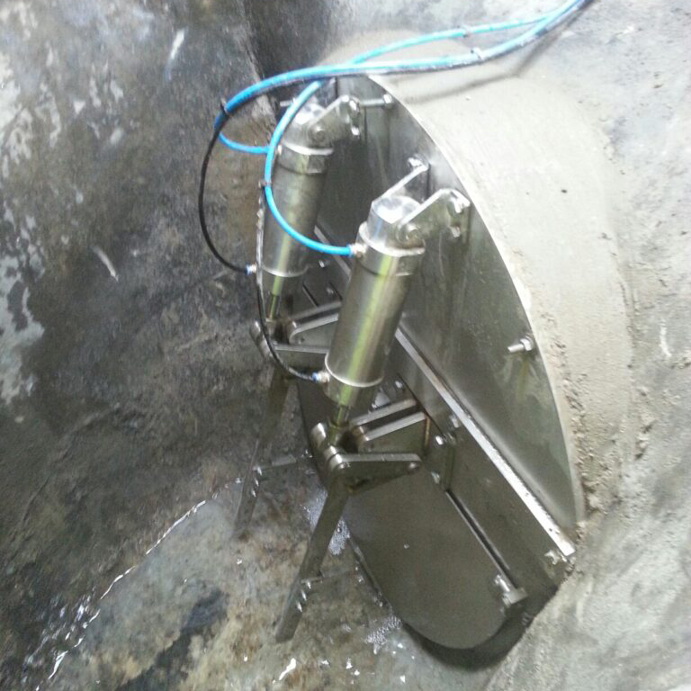 Automated Penstock Side View