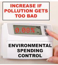 Environmental Spending Control