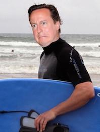 PM Swims in Sewage