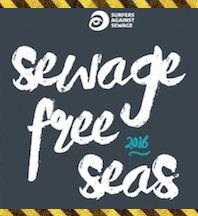 Surfers against sewage, sewage free seas 2016
