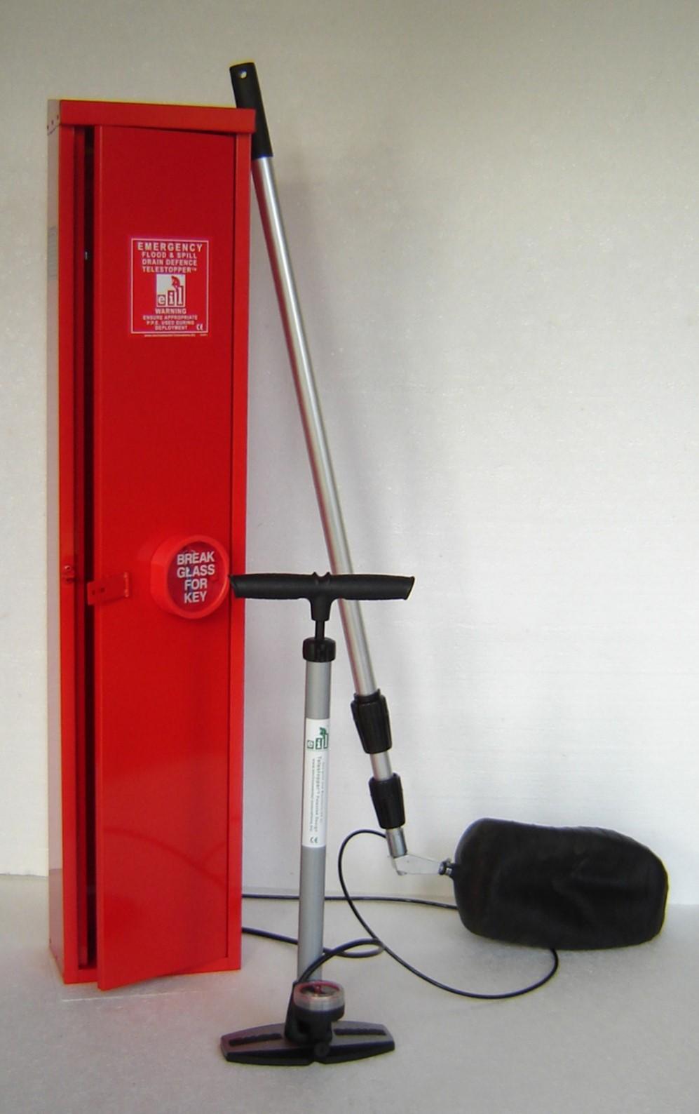TelestopperTM Portable Emergency Spill Protection
